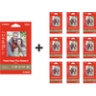 "Buy 1 Get 9 Free Canon 4""x6"" Photo Paper + Extra 50% off at Canon"